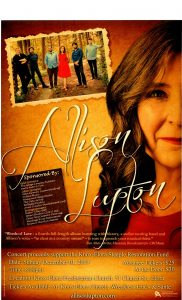 Allison Lupton Concert